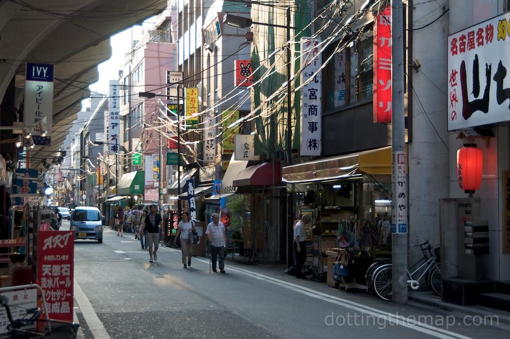 Tokyo city alley