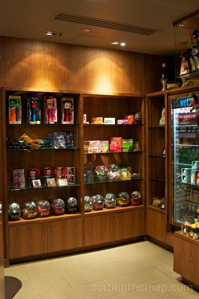 lobby curtis hotel snacks