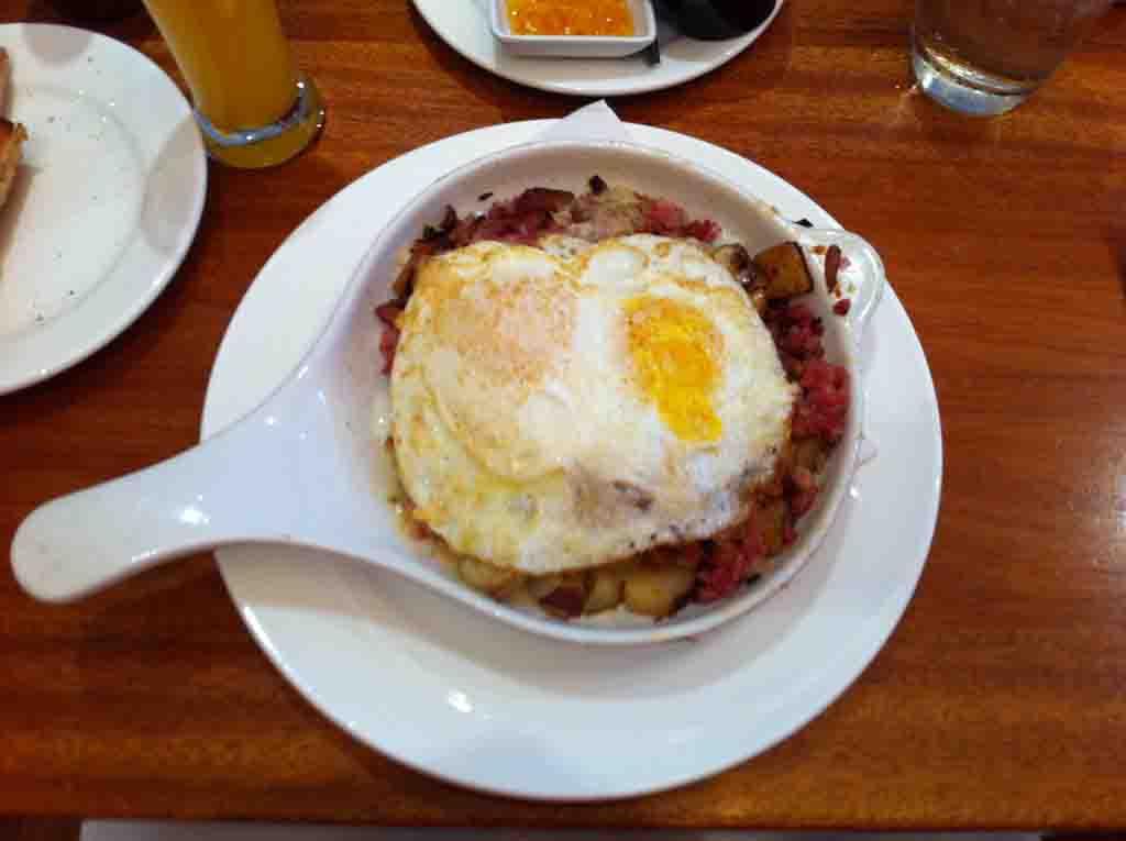 Melis cafe Corned Beef Breakfast chicago