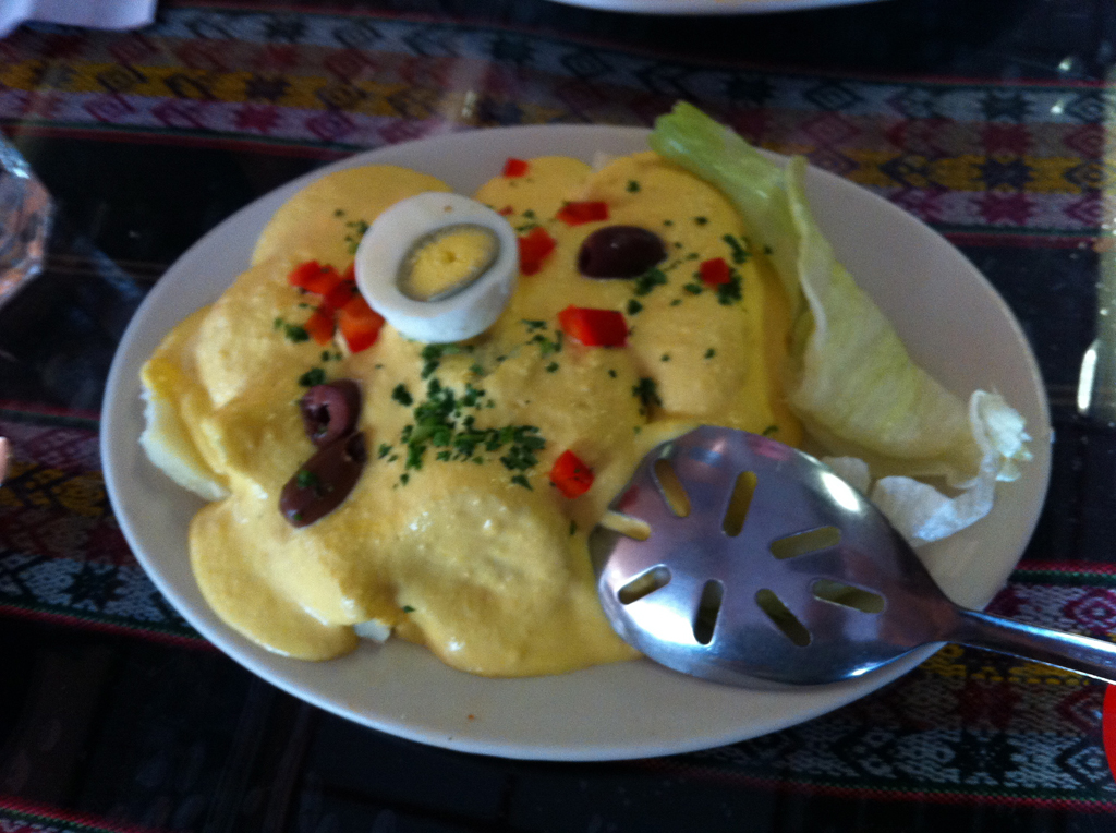 Taste of Peru Chicago Papa A La Huancaina