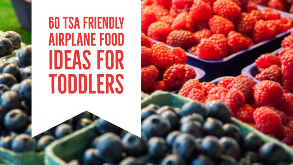 Tips for Healthy Airplane Snacks