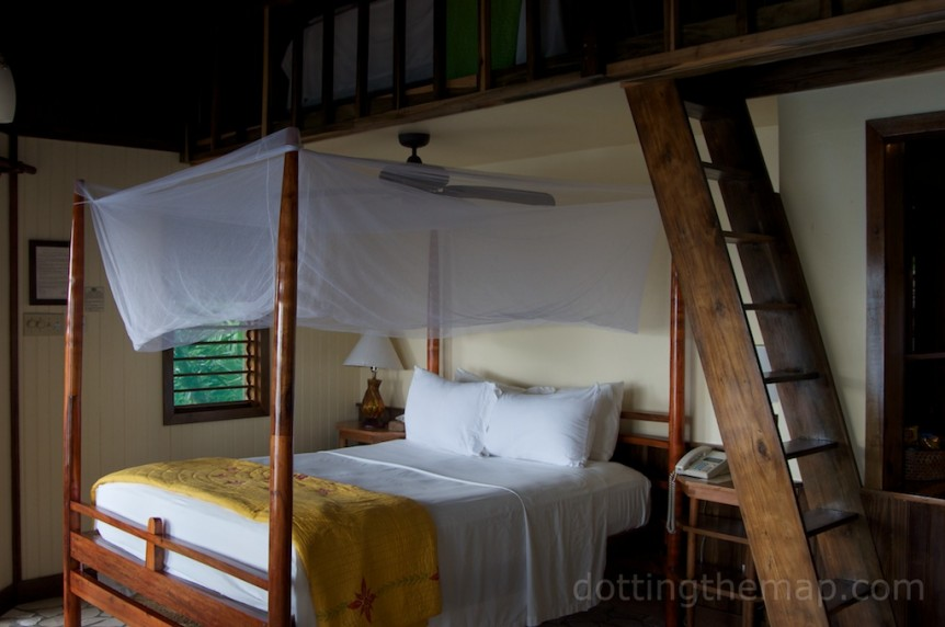 Loft Room at the Rock House Hotel, Negril, Jamaica