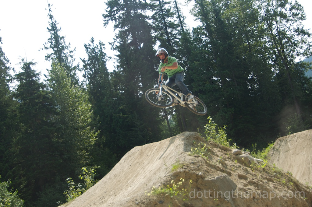 Crankworx and mountain biking in the summer at Whistler