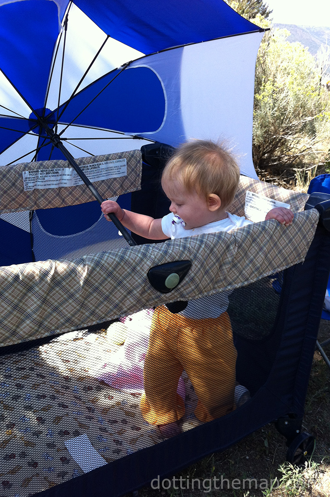 camping with baby tips