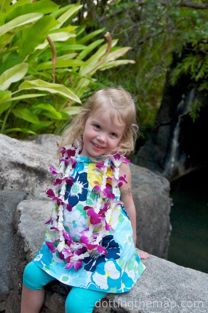 Polynesian Cultural Center lei