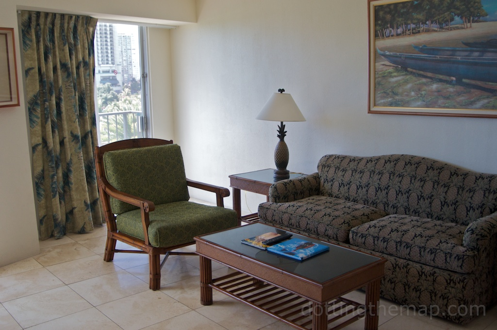 outrigger Luana sitting area