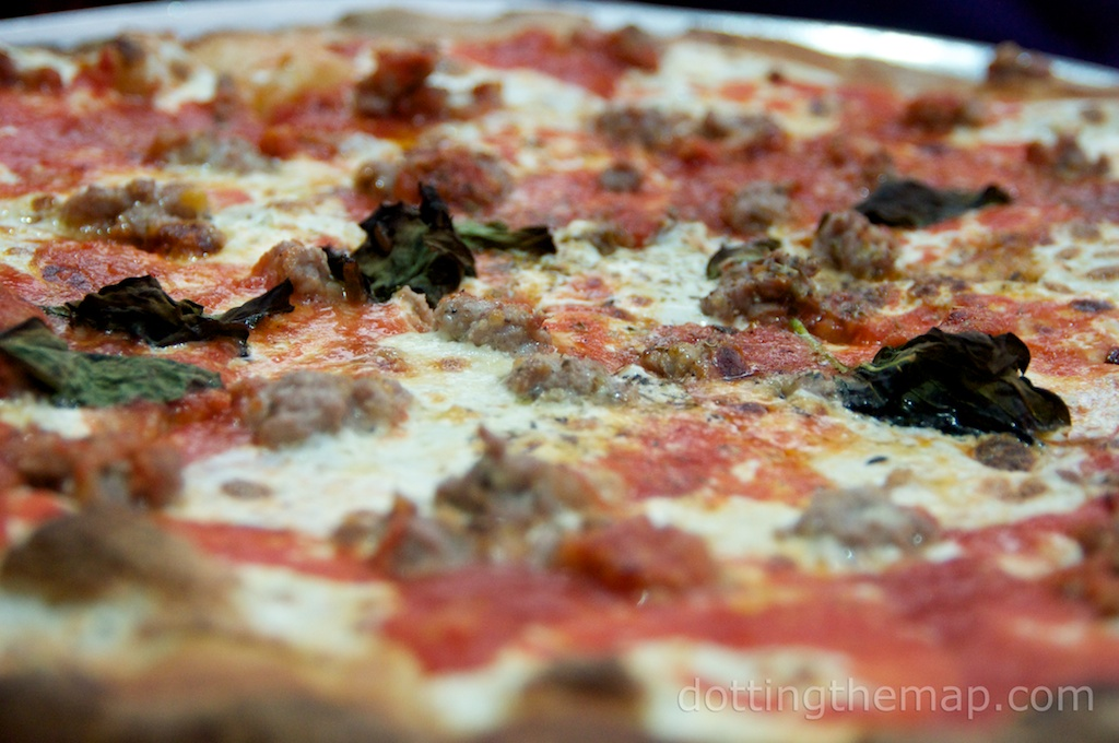 Grimaldi's pizza in Brooklyn