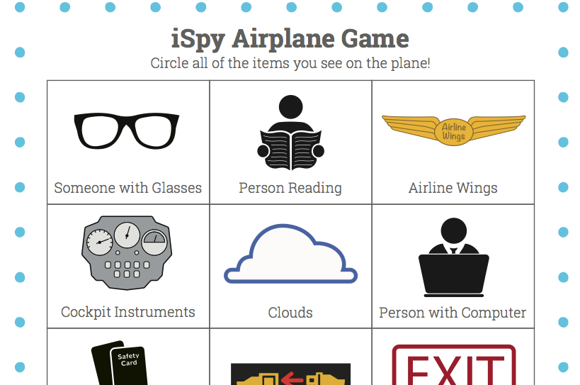 airplane iSpy Game