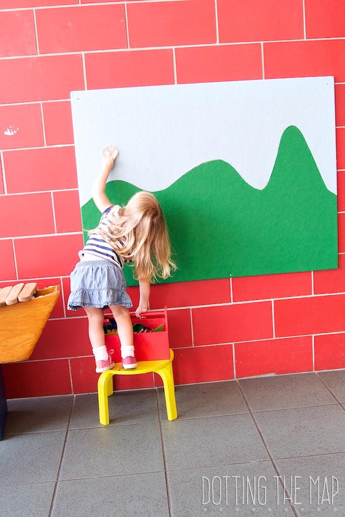 felt board preschool learning