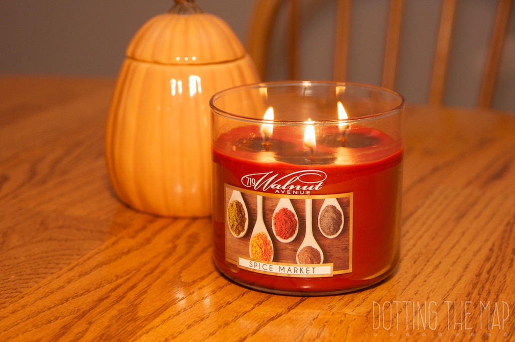 Spice market candle
