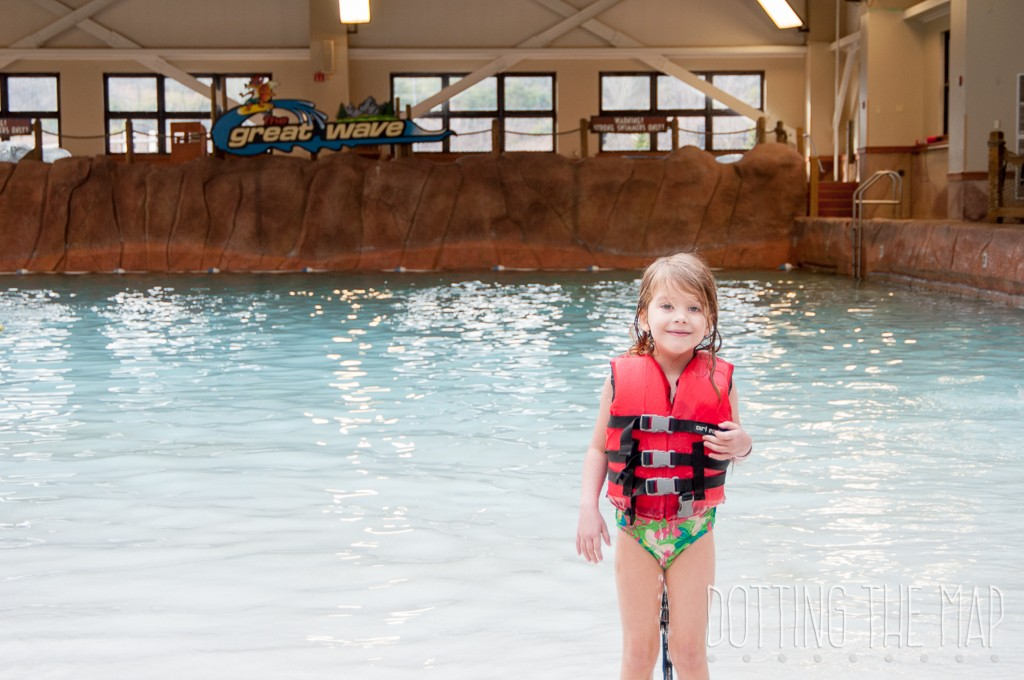 Wilderness at the smokies wave pool