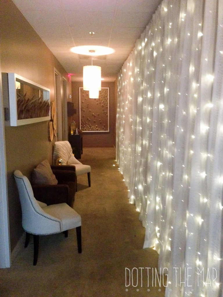 Relax room at the Chattanoogan Hotel Spa