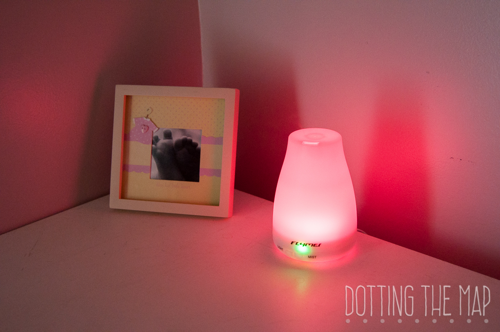 review flymei essential oil diffuser