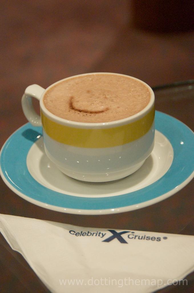 hot chocolate on celebrity cruises