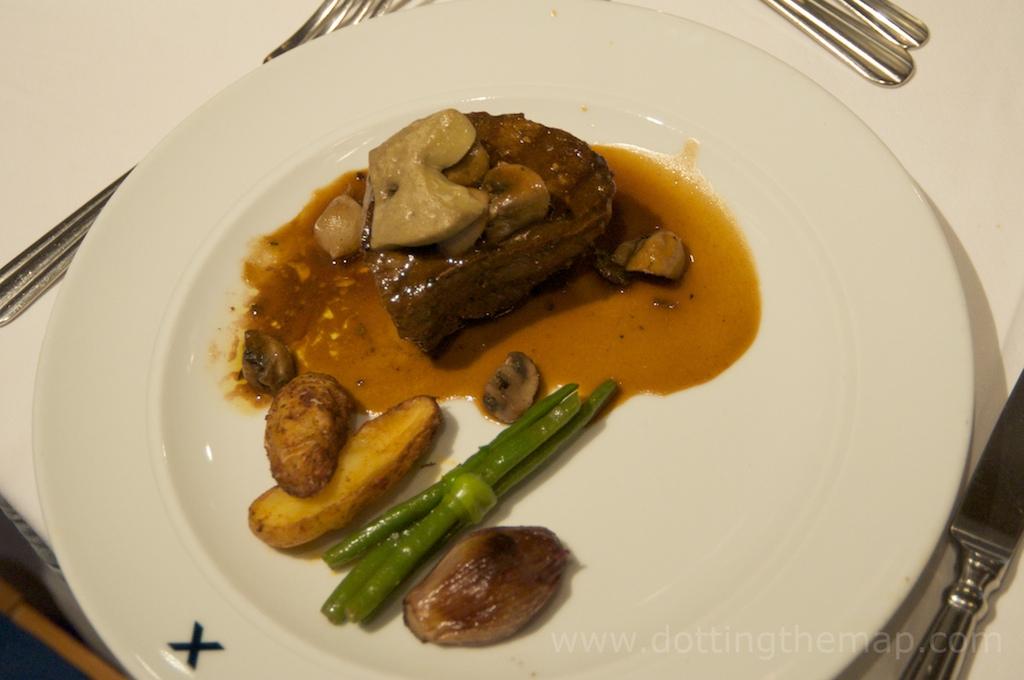 Filet Mignon with Foie Gras