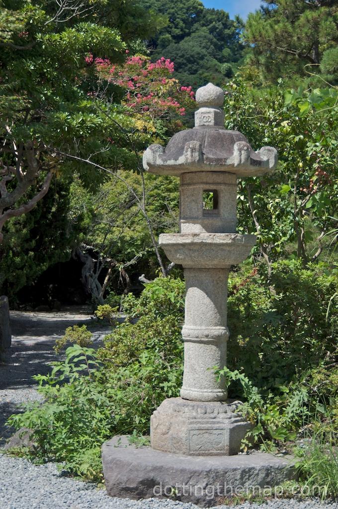 Japanese lantern at Meiji Jingu
