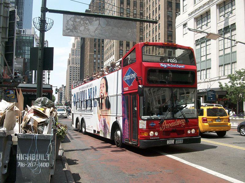 hop on hop off bus tour New York City