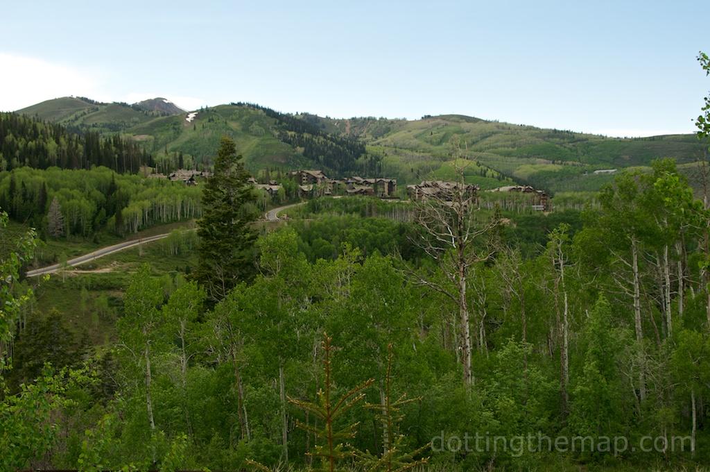 view from Stein Eriksen lodge park city