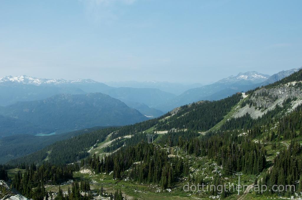 top of Whistler Blackcomb