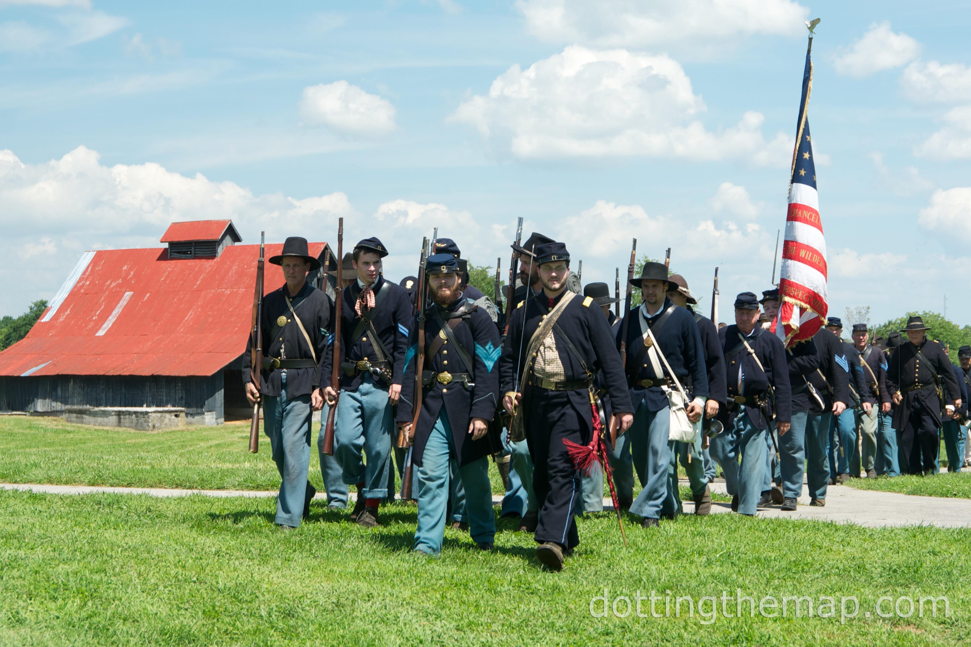 civil war reenactment Richmond