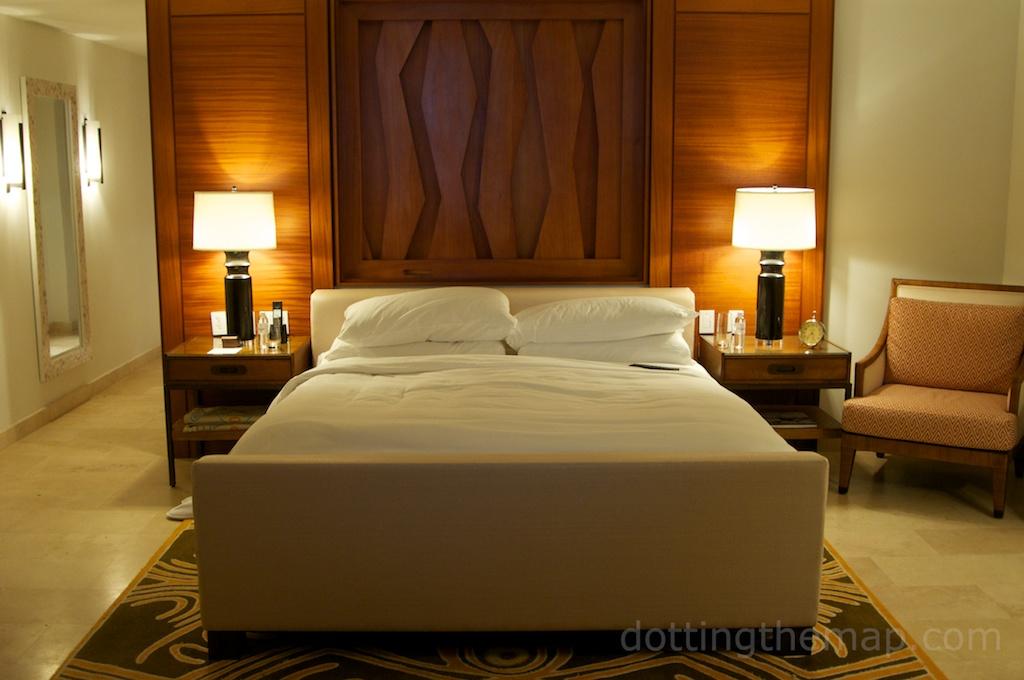 beds at Ritz Carlton Puerto Rico