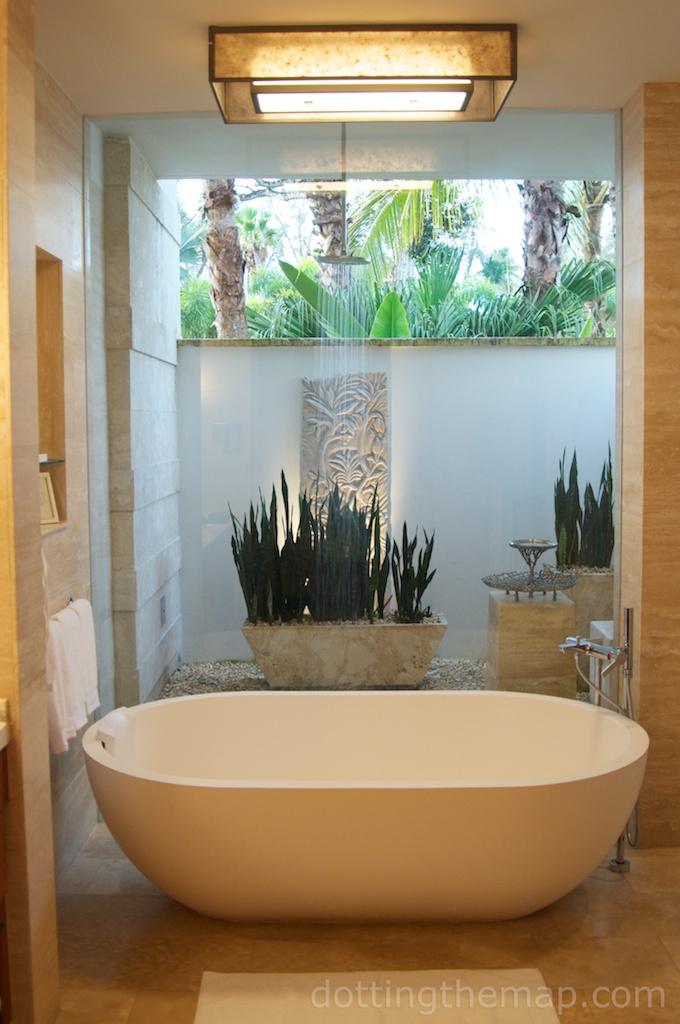 bathtub Dorado Beach Ritz Carlton Puerto Rico