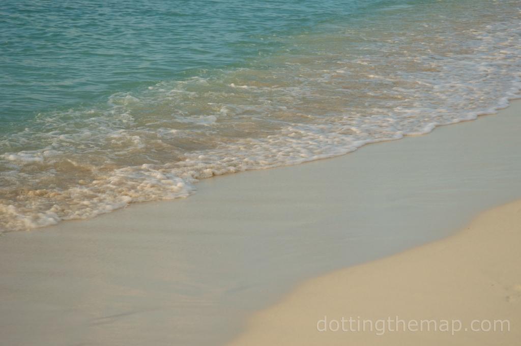 Aruba beach water
