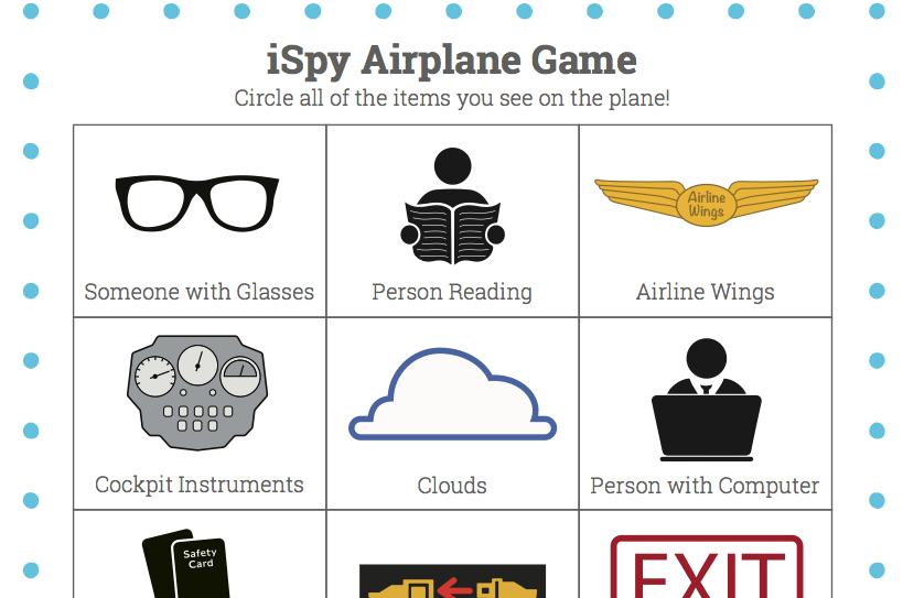 airplane iSpy Game
