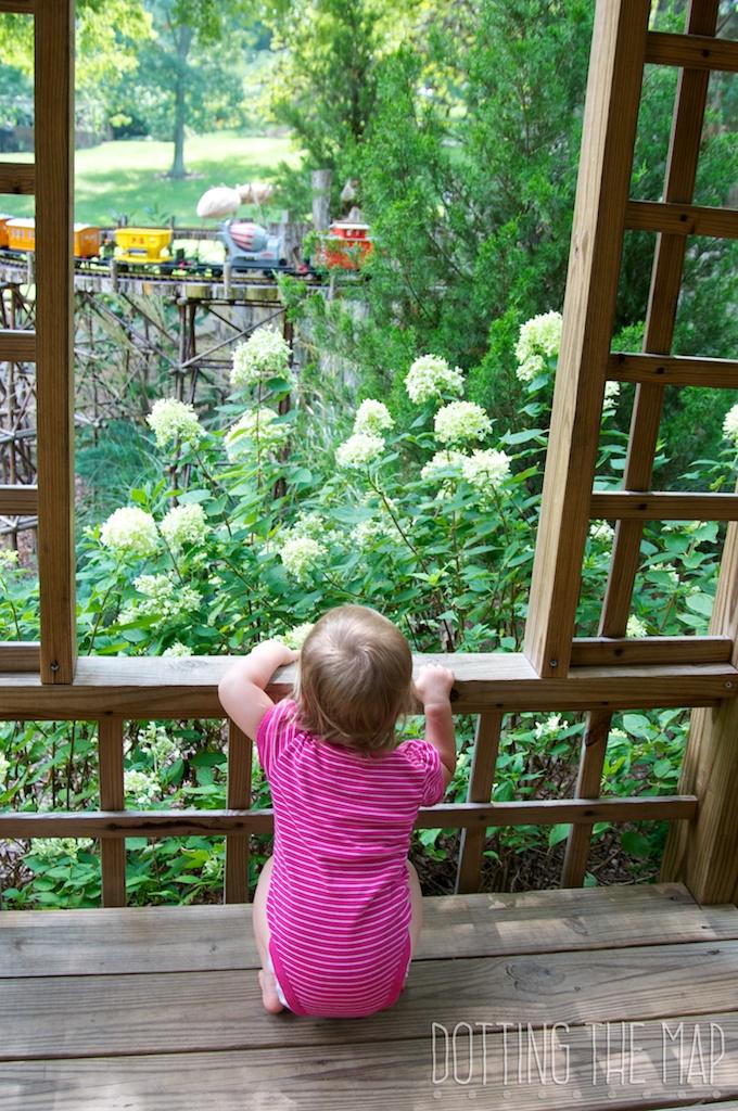 Trains Cheekwood Botanical Gardens in Nashville