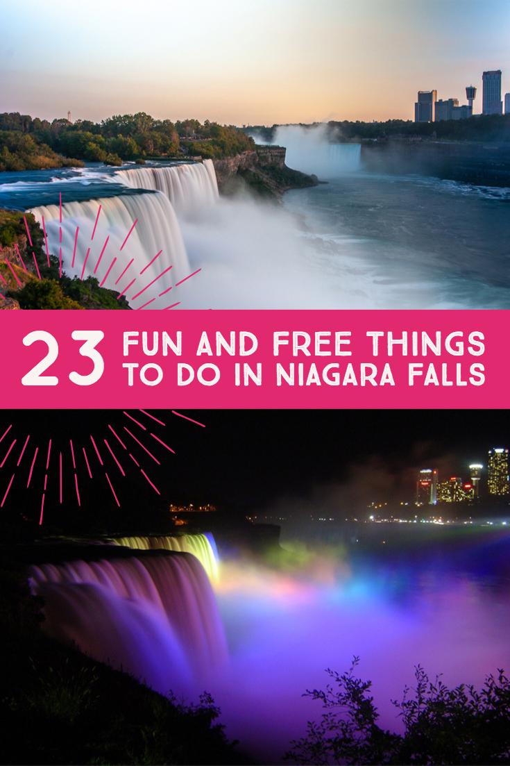Free things to do in niagara falls
